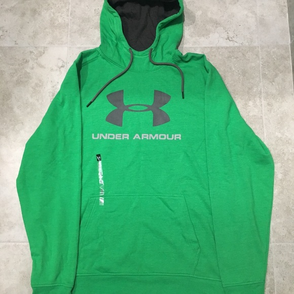 Under Armour Sweaters Big Logo Cold Gear Hoodie Loose Fit Poshmark